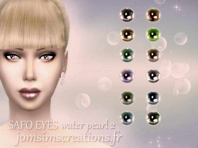 Safo Makeup and Eyes Set by JomSims