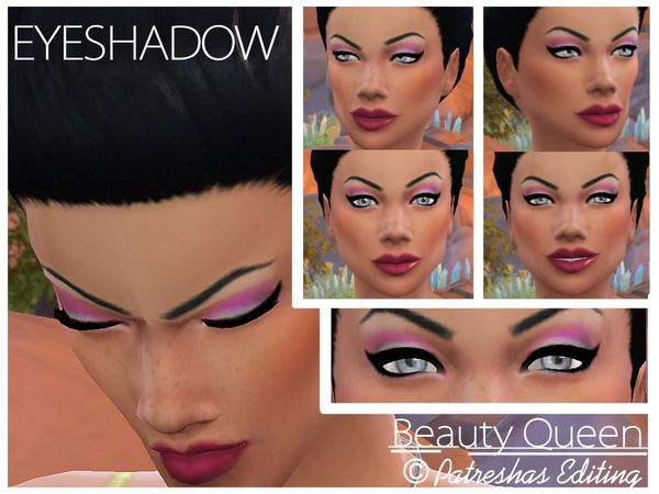 Beauty Queen Eye shadow by Patreshas Editing by patreshasediting