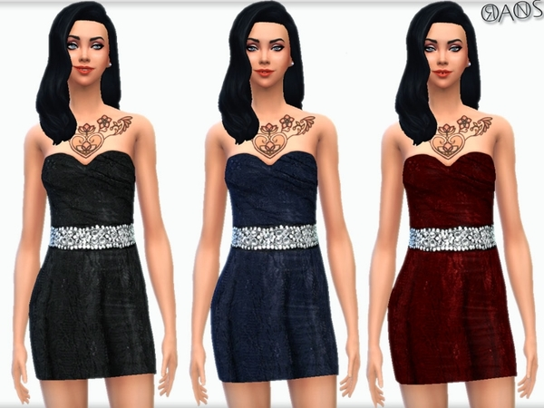 Flirty Lace Dress by OranosTR