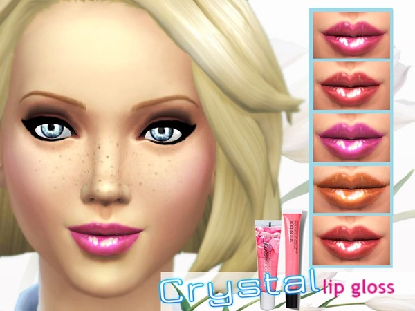 Crystal Lip Gloss by Pinkzombiecupcakes