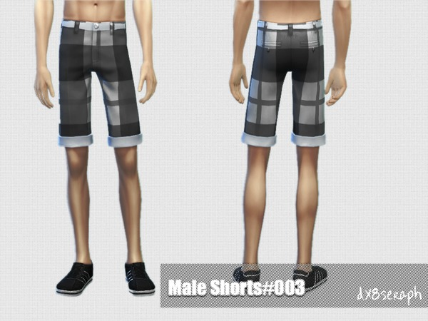 Male Shorts Set#001 by dx8seraph