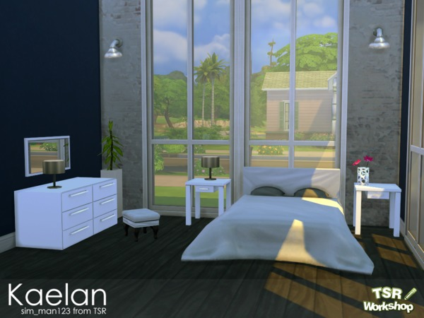 Kaelan Bedroom by sim_man123