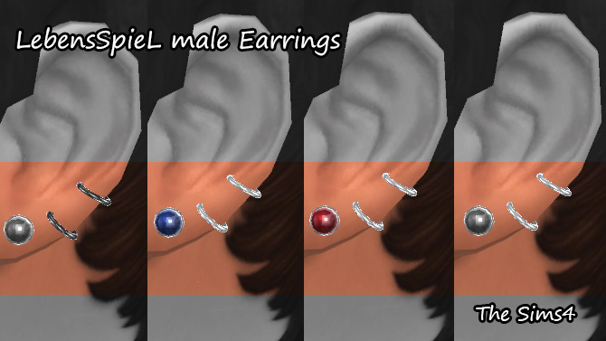 Earrings for Males by Youchals
