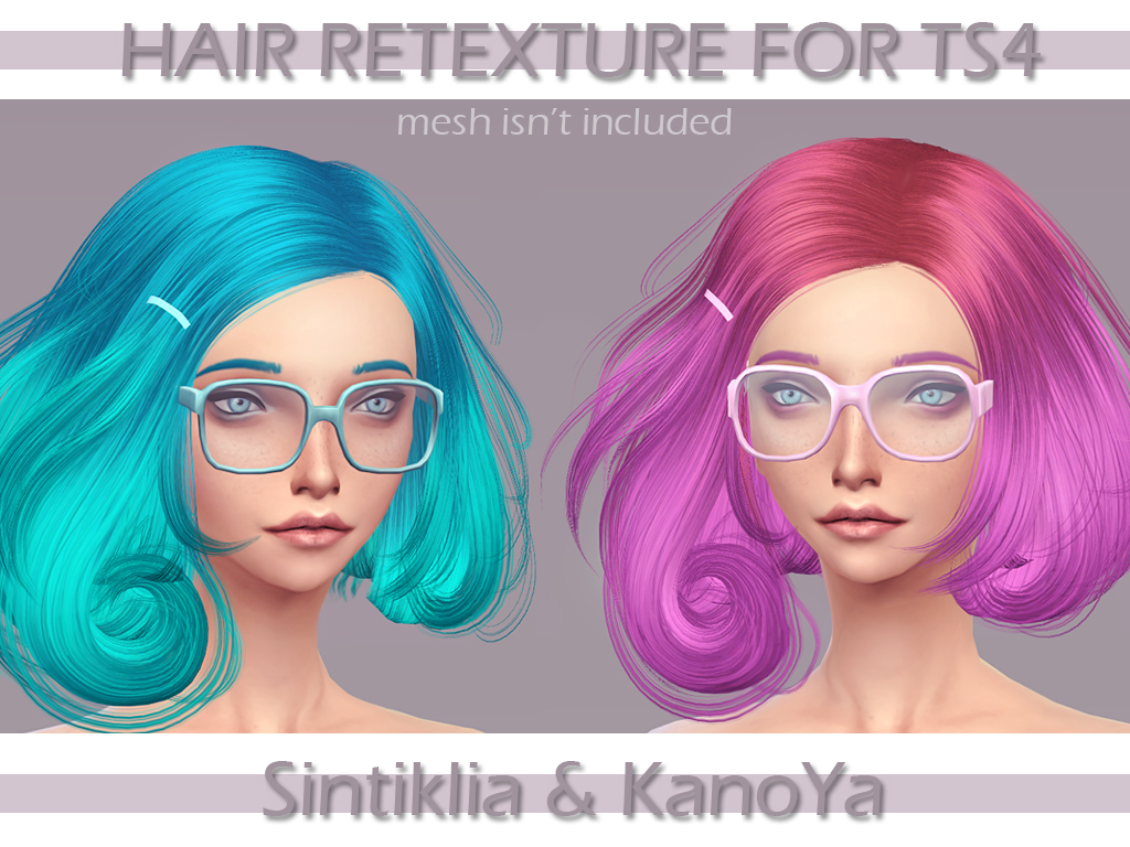 Sintiklia Scarlet Hair Recolors by KanoYa