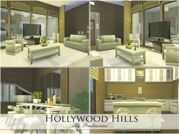 Hollywood Hills by Pralinesims