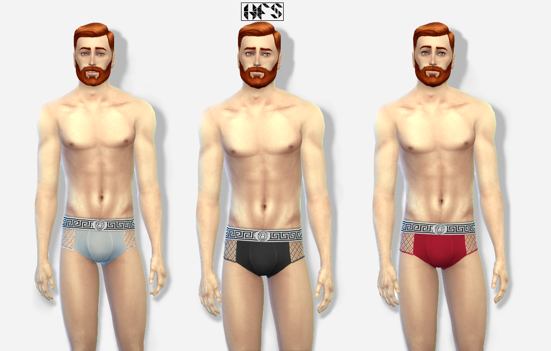 Versace Briefs by Hautfashionsims4