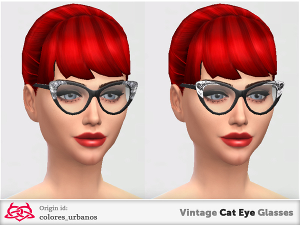Vintage Cat Eye Glasses by Colores Urbanos