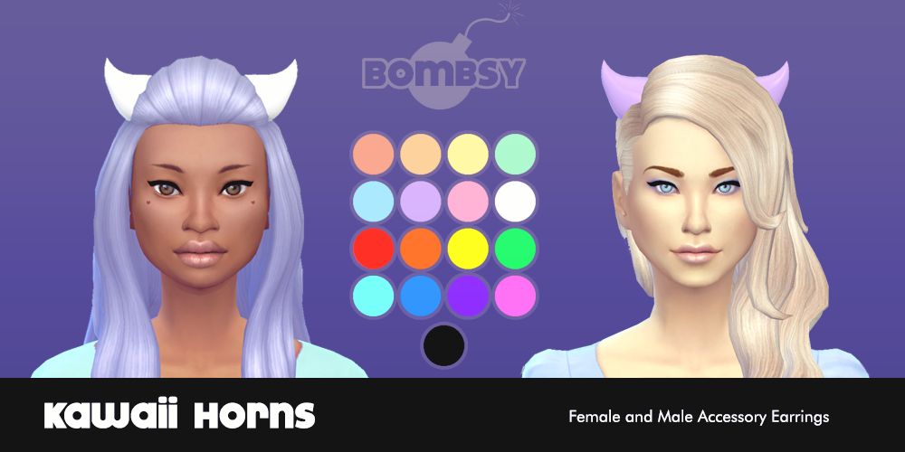 Kawaii Horns for Females by Bombsy