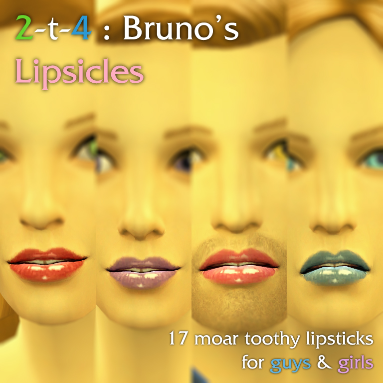 TS2 to TS4 - Bruno's Lipsicles for Males & Females by Literallyfrist