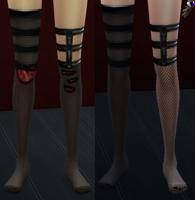 Bloody Stockings by Irisblanch3