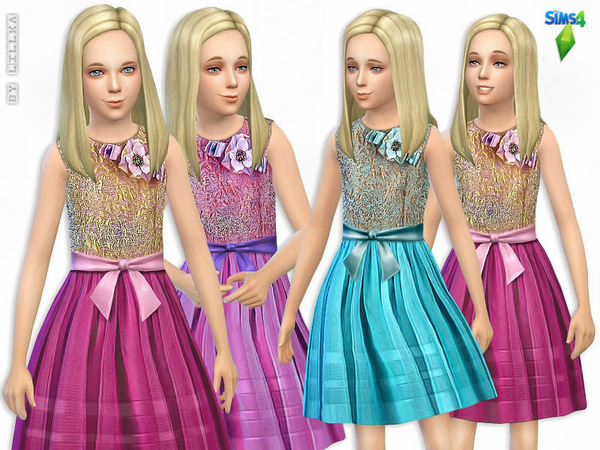 Party Dress with Glitter by lillka