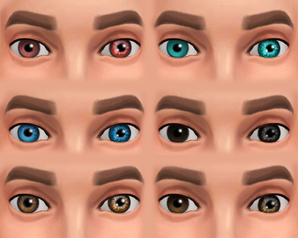 All Eyes Redone by Simalicious