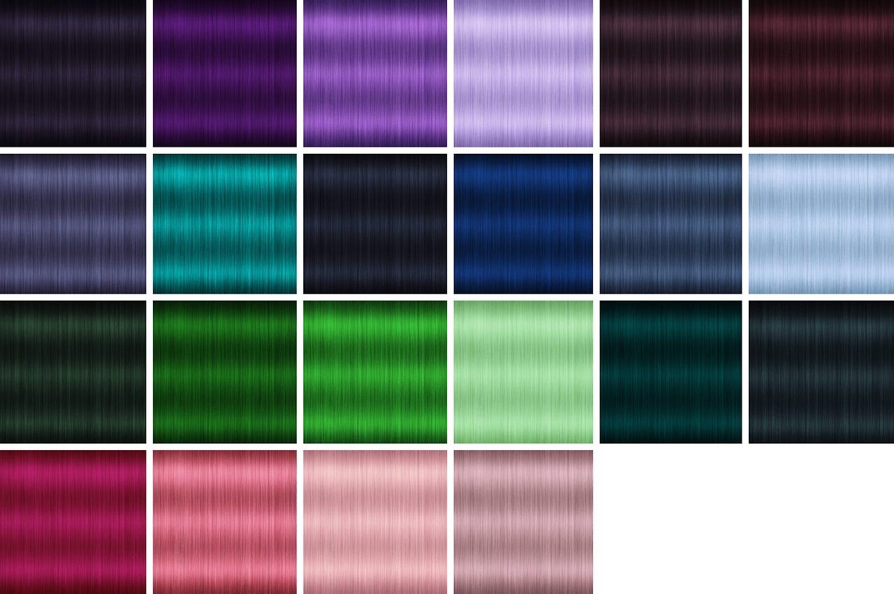 Custom Hair Mesh in 45 Colors by MissParaply