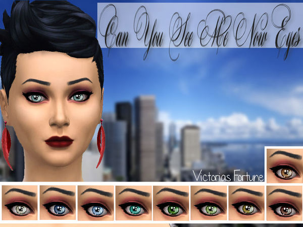 Victorias Fortune Can You See Me Now Eye Collection by fortunecookie1