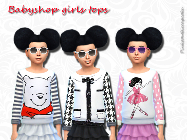 Babyshop girls tops by Pinkzombiecupcakes