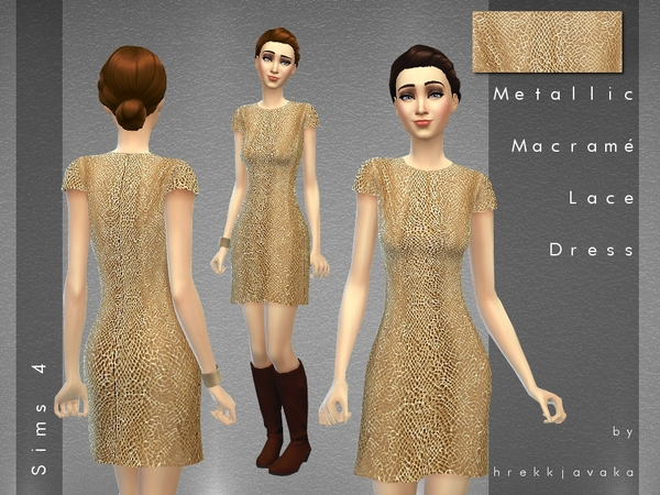 Issa Macrame Lace Dress by hrekkjavaka