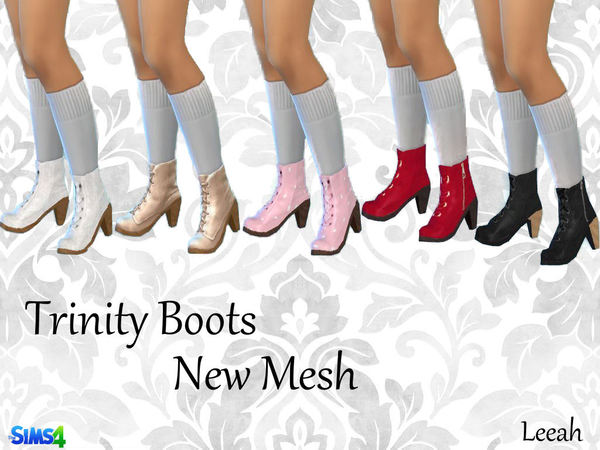 Trinity Boots by leeah