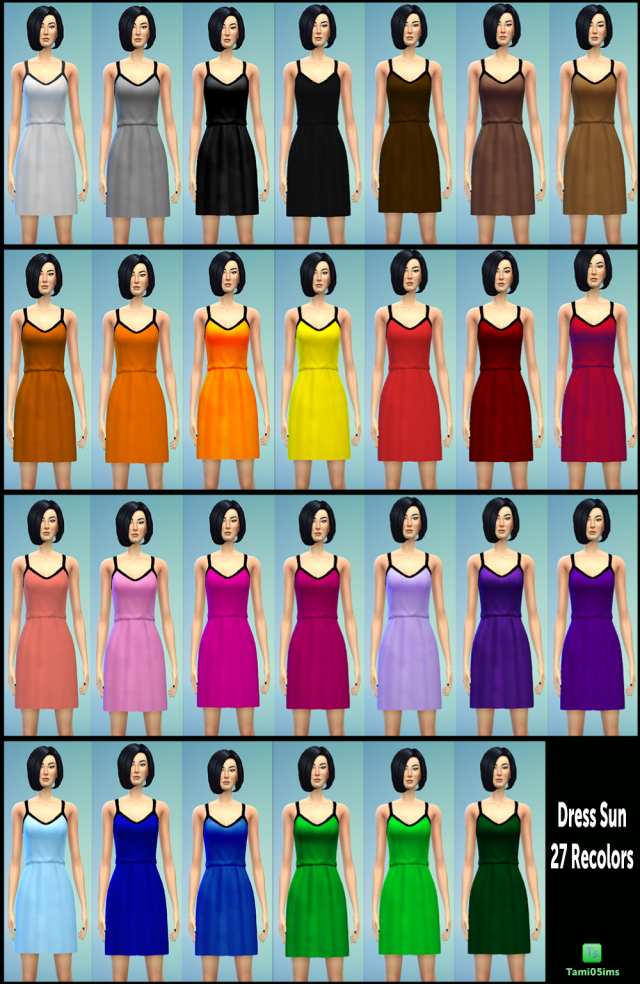 27 Sundress Recolors by Tami05ims