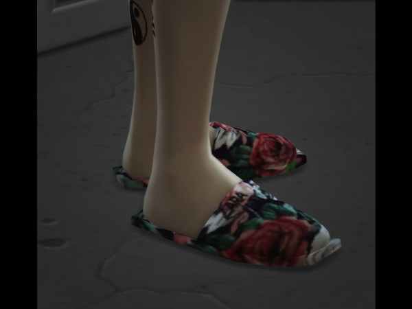 77 clothes -S4 indoor slippers by The 77 sims