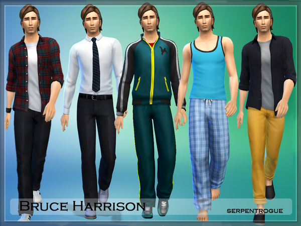 Bruce Harrison by Serpentrogue