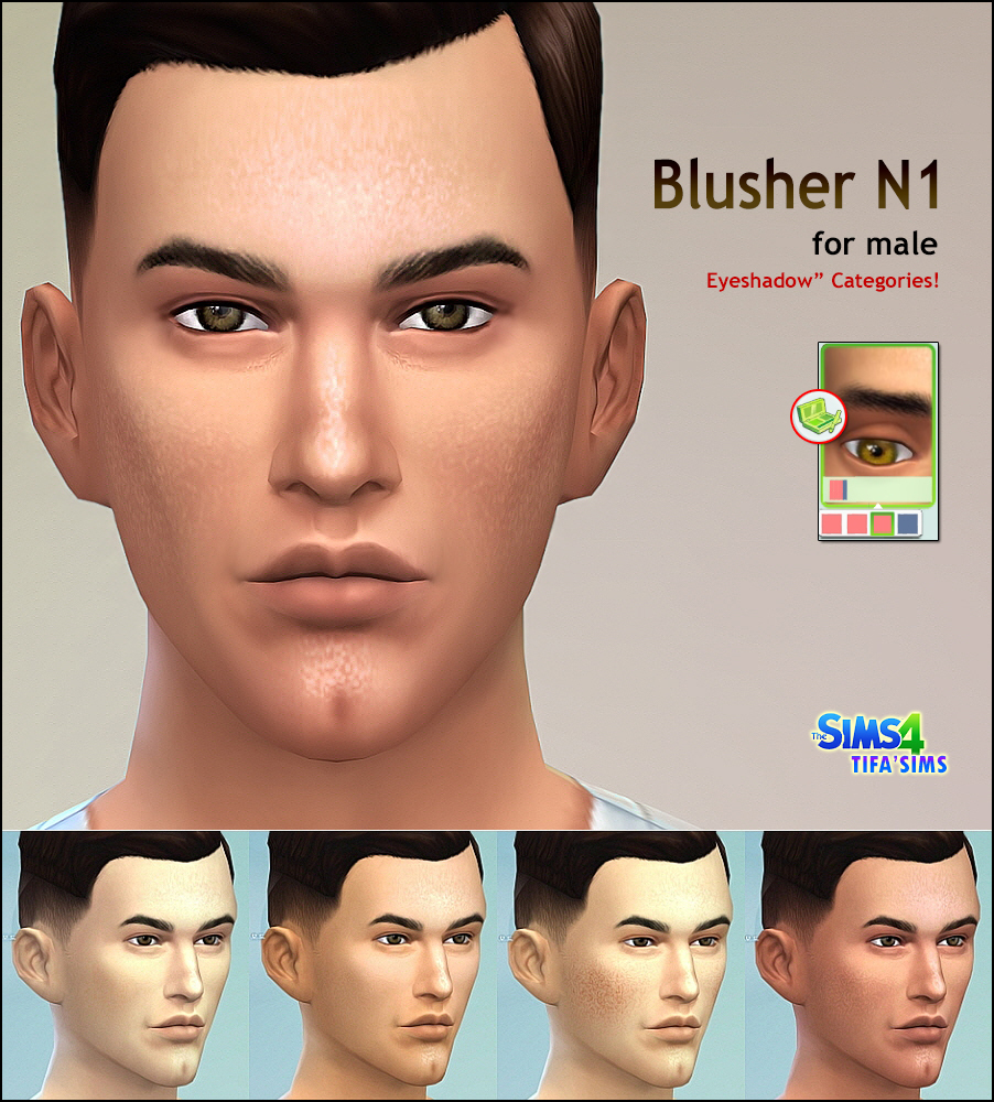 Blusher N1 by Tifa