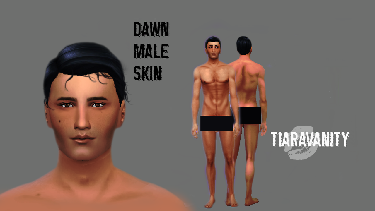 Dawn Skin for Males by Vanityelainesims4