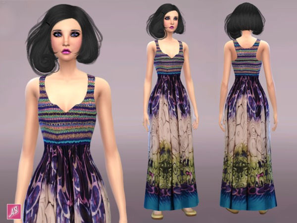 Daytime Maxi Dress by Alexandra_Sine