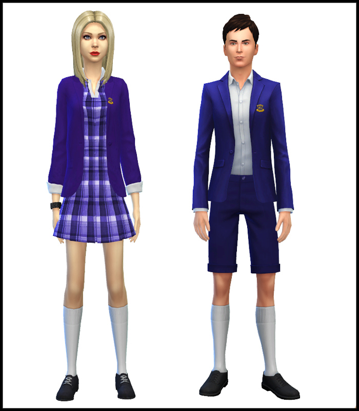 School Uniforms for Teen - Elder Males & Females by Mr. S