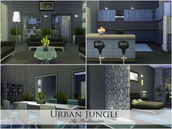 Urban Jungle by Pralinesims
