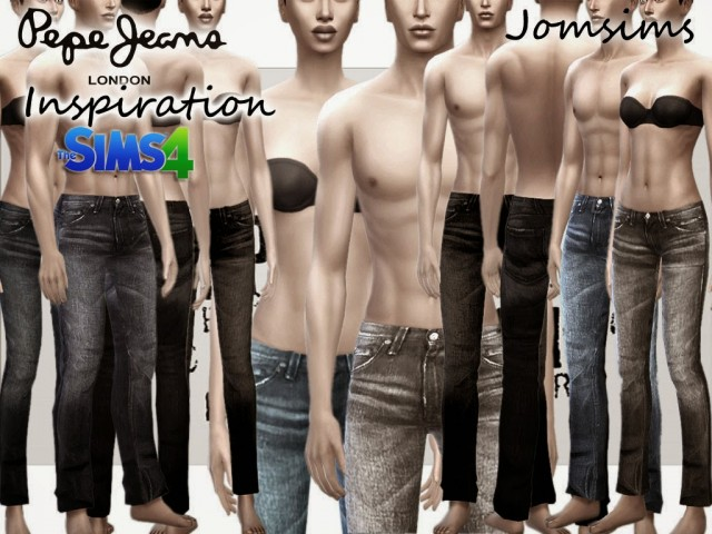 Pepe jeans inspiration by Jomsims
