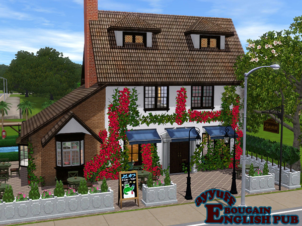 Bougain English Pub by ayyuff