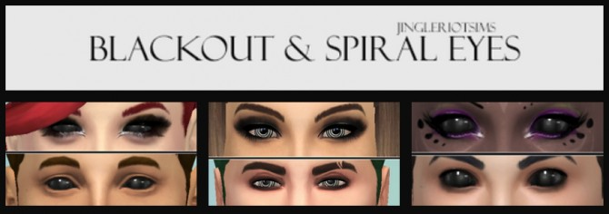 Blackout & Spiral Eyes at Jingleriots Sims