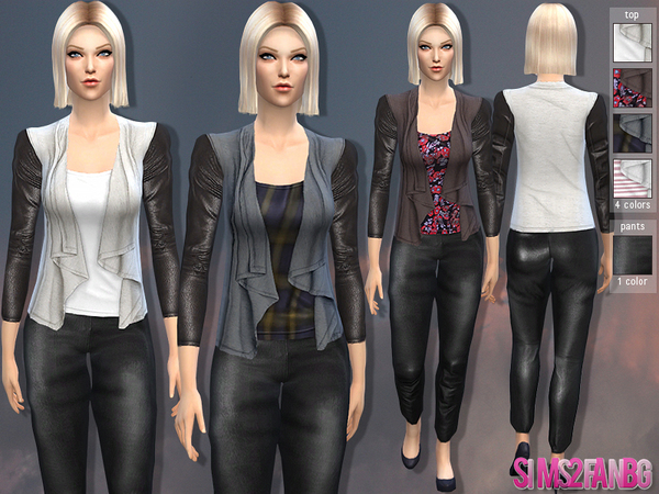 07 - Female fall set by sims2fanbg
