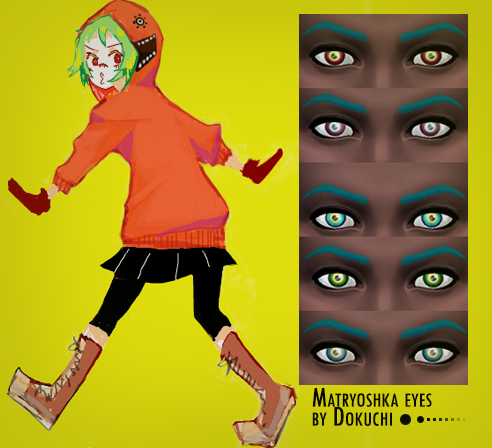 Matryoshka eyes by Dokuchi