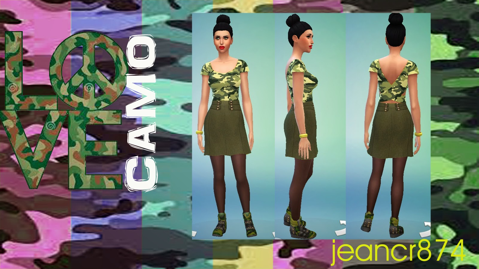 Love Camo FW14/15 set at La Boutique de Jean