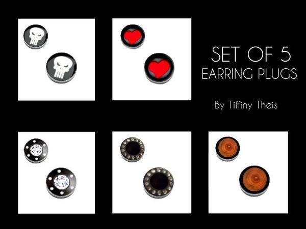 Plug Earrings by tiffybee