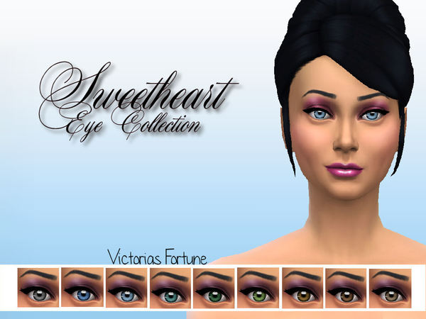 Victorias Fortune Sweetheart Eye Collection by fortunecookie1