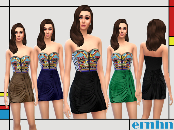 Authentic Bustier Dress by ernhn