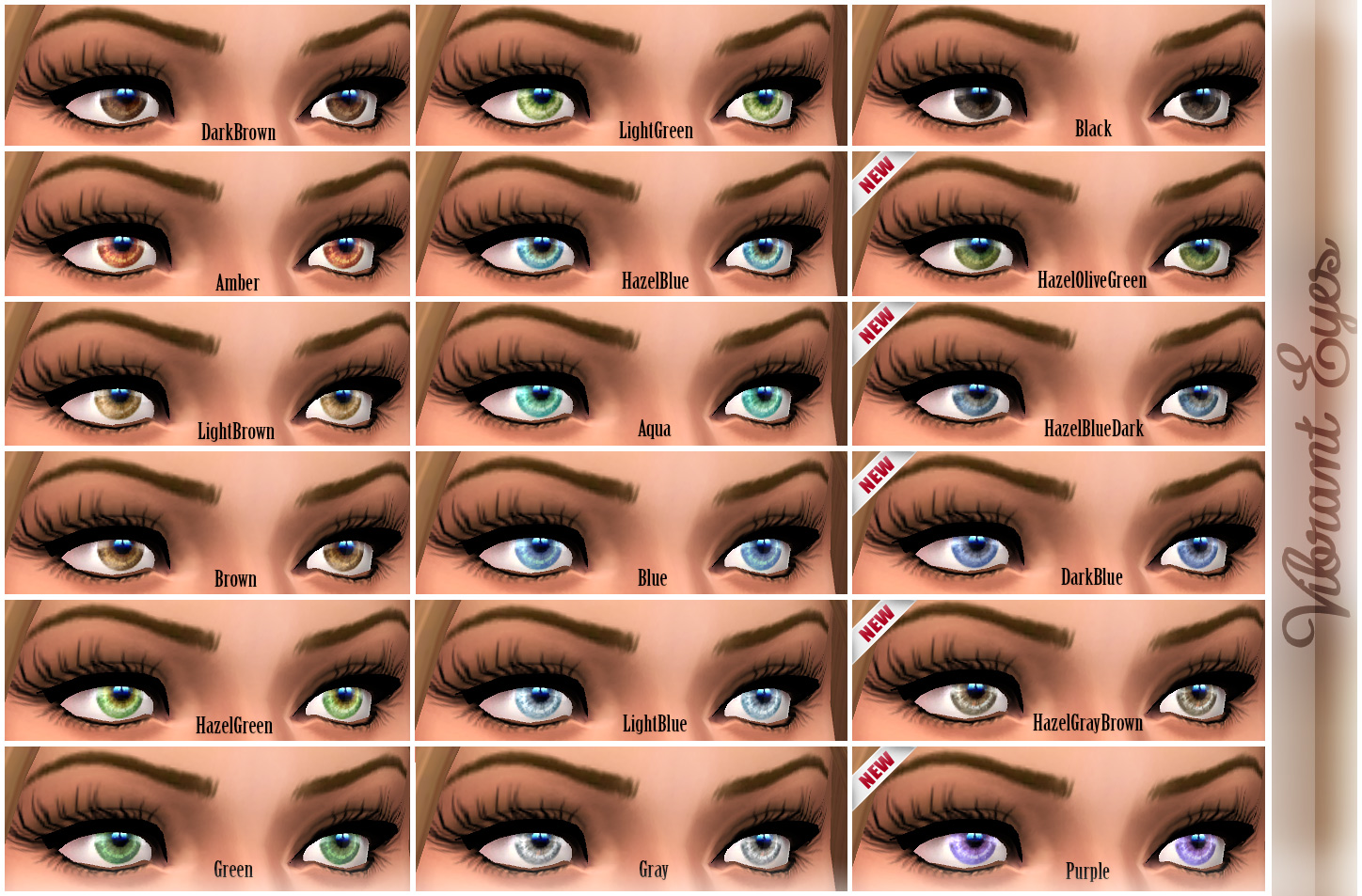 Vibrant Eyes by -Shady-
