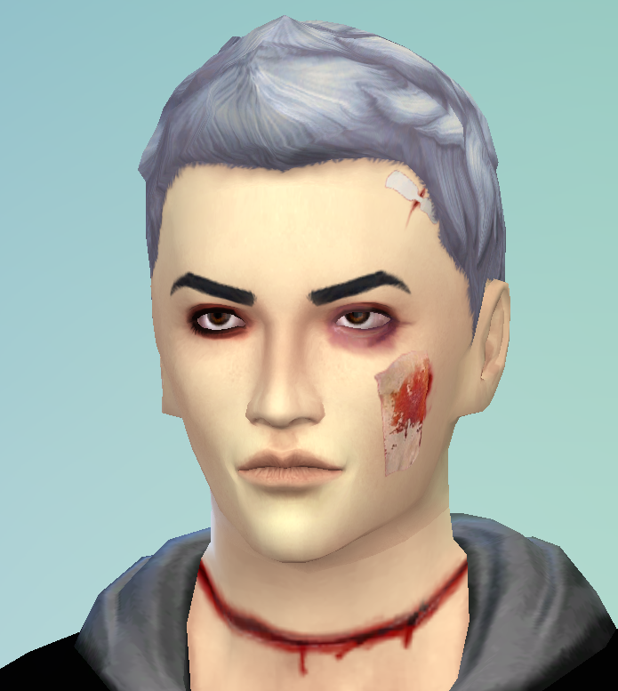 Bloody Makeup by JingleRiotSims