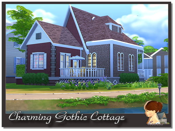Charming Gothic Cottage by evanell
