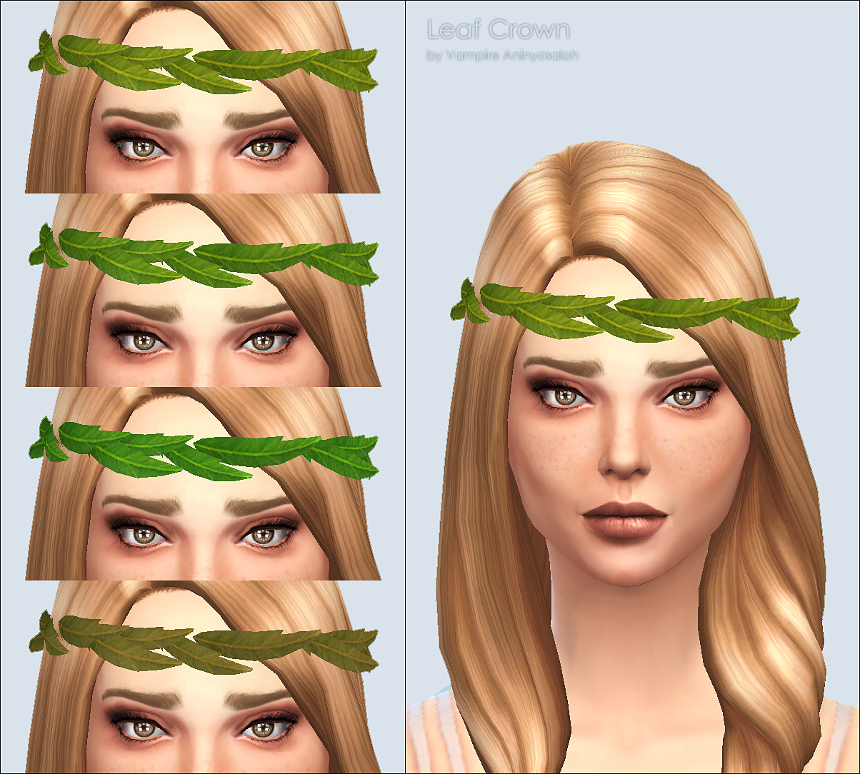 Leaf Crown -4 colors- by Vampire_aninyosaloh