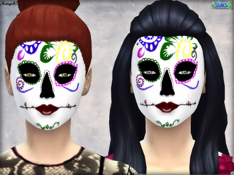 Dia De Los Muertos Inspired Makeup by Margeh-75