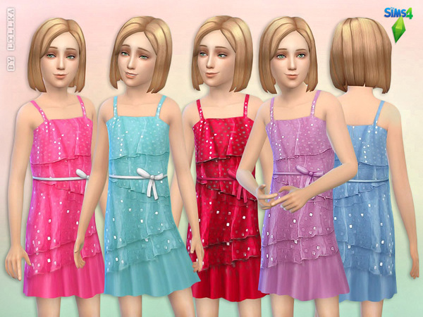 Square Sequin Dress by lillka
