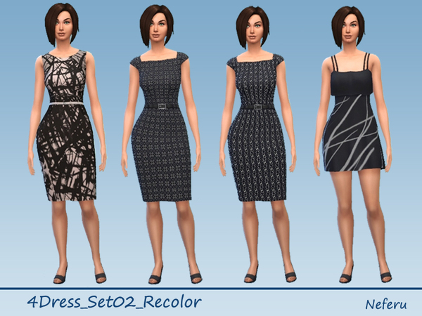 4Dress_Set02 by Neferu