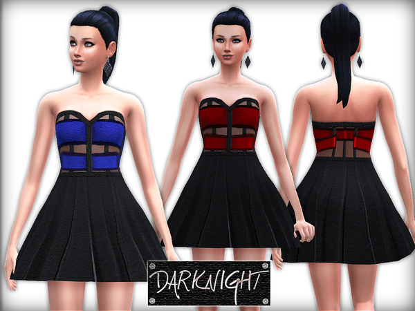 Leather Strapless Dress by DarkNighTt