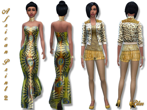 African Print 2 by Pilar