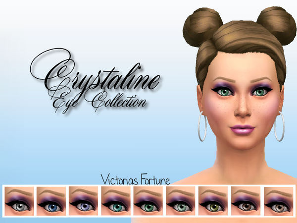 Victorias Fortune Crystaline Eye Collection by fortunecookie1