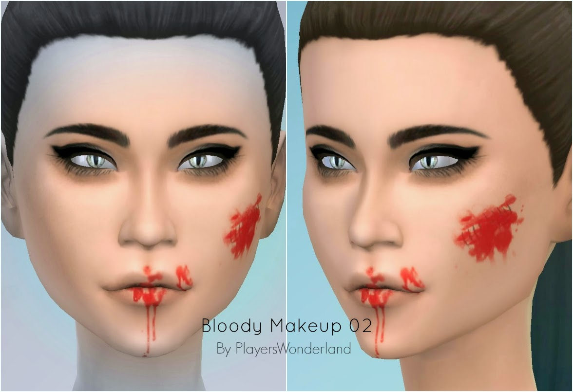 Bloody Makeup by PlayersWonderland