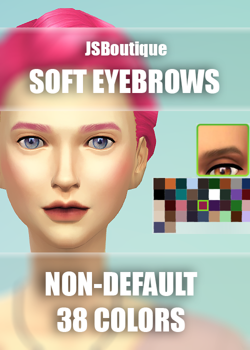 Female Soft Eyebrows by JSBoutique